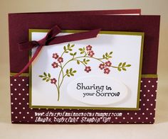 sympathy by stamplady102 - Cards and Paper Crafts at Splitcoaststampers