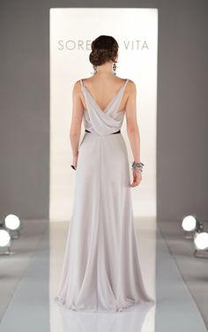 Back 8386 - Sorella Vita maid of honor dress for sisters wedding