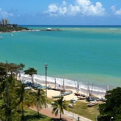 Praia de Pajuçara - Maceio - Alagoas - Brasil.