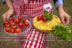 Quiches, Vegetables, Food, Food Processor, Serving Bowls, Salads, Recipes, Tomatoes, Essen