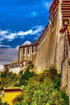 TIBET LHASA PALACE   Landmarks   Travel Locations   Pixoto