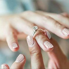 Here comes the bride all dress in Jams!  #wedding #DIY #nails #nailart #jennybrown.jamberry.com #putaringonit
