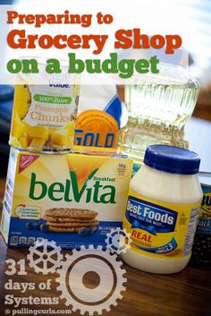 When shopping on a budget, preparing a grocery list is almost as important as what you buy! #pullingcurls