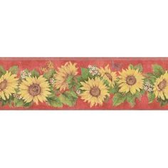 CB5517BD - Border | S & CRAFTS III | AmericanBlinds.com ... on small kitchen cabinets design ideas, sunflower design ideas, sunflower kitchen decor, sunflower kitchen towels, sunflower decals for kitchen cupboards, sunflower garden ideas, sunflower decals for kitchen cabinets, sunflower kitchen color, sunflower kitchen rugs, sunflower kitchen decorations, sunflower home decor, eat in kitchen ideas, zebra kitchen ideas, sunflower bathroom ideas, sunflower kitchen themes, sunflower kitchen sets, sunflower bedroom ideas, sunflower kitchen curtains, sunflower primitive decor, sunflower kitchen art,