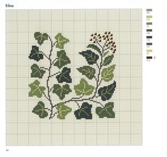 Gallery.ru / Фото #37 - Ingrid Plum-Bloomster blade og baer in Korssting - logopedd