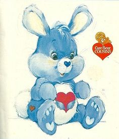 Photo of Swift Heart Rabbit for fans of Care Bears 40374206 Retro Toys, Vintage Toys, Vintage Sewing, Care Bear Tattoos, Care Bears Vintage, Care Bear Party, Bear Pictures, 80s Characters, Cousins