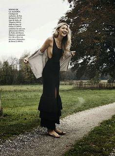 Gigi Hadid by Benny Horne for Vogue Spain April 2015