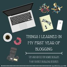 Things I Learned in my First Year of Blogging - Inside the Fox Den