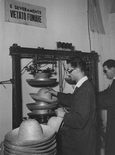 Laboratorio paglieria - 1956
