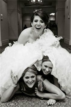 Break the Rule of your Wedding Party#funny wedding pics