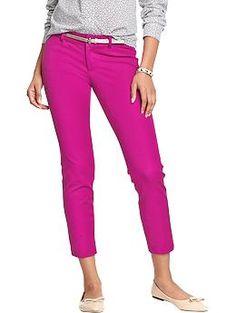 Obsessed with these fuchsia pants!