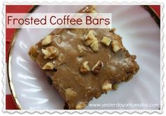 Frosted Coffee Bars,