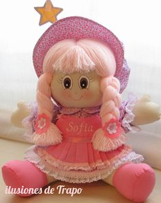 [gallery type& size& ids& Felt Dolls, Baby Dolls, Rag Doll Tutorial, Sewing Dolls, Doll Hair, Free Sewing, Beautiful Dolls, Embroidery Stitches, Printing On Fabric