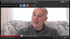 Dealing with your parents' housing situation can be a challenge. First hand from someone who went through this with his own mother, in this video from the Family Caregivers' Network in BC.  http://seniordownsizing.ca for Downsizing in Niagara Region.