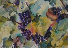 Napa Valley by WaterColorByMaureen on Etsy, $150.00