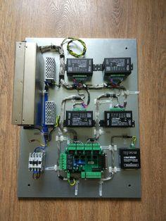 Элементы блока управления станком плазменной резки / CNC plasma table control box guts