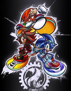 shadow the hedgehog riders | ... the Hedgehog), Shadow, Amy, фанперсонажи - Sonic-World