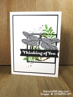 Handmade Thinking of You Card: Stampin Up Just Because