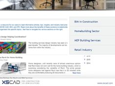 XS CAD bring its online visitors a revised blog page  XS CAD has revised its blog page for an improved viewer experience. We have also updated our blog page with fresh content written by a variety of industry experts to provide visitors' with the latest industry updates. For more information, visit http://www.xscad.com/blog/  #BIM #MEP #BIMForum #Revit #AutoCad #CAD #AutoDesk #Architecture #Drafting #Arch #HomeBuilding #ArchiCAD #ArchiCADModelling #ArchiCADDrafting #MEPDesign
