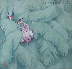 Wang Daoliang (1938~) 王道良先生工笔画作品选、名家绘画、王道良、中国画、工笔画