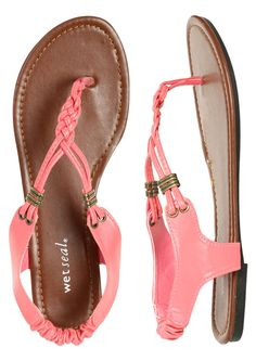 Zapatos de mujer - Womens Shoes - Flat Sandals