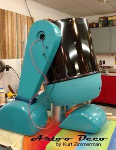 Art Deco R2-D2 Looks Like The Coolest Vintage Vacuum