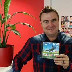 "Anrich Herbst lees Afrikaanse kinderstories! ""DINOSAURUSLAND"" is beskikbaar by www.AnnaEmm.co.za Anna, Fictional Characters, Fantasy Characters"