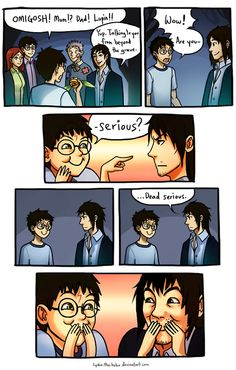 Oh my gosh! This is hilarious and heartbreaking! <3