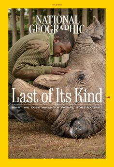 National Geographic's October single-topic issue on Extinction features the work of Joel Sartore and his Photo Ark Project National Geographic Cover, National Geographic Photography, National Geographic Magazine Subscription, Print Magazine, Creatures, Magazines, Photo Wall, Picture Wall, Wall Pictures