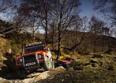 Off road 4 x 4 4WD driving in Windermere, Ambleside and the Lake District with Kankku