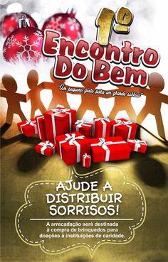 Ação beneficente - Encontro do Bem! Dez.2016