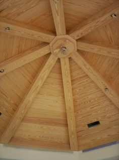 Octagonal T&G ceiling and beams