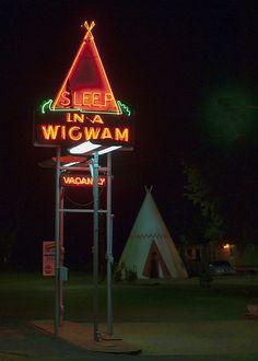 Sleep in a WigWam off US 31