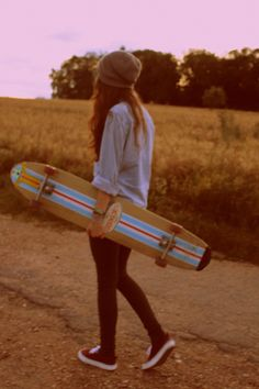 Long boarding is seriously the best thing ever. Idk why I didn't try it earlier!