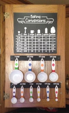 Measuring Cup Holder | Measuring cup, Cup holders and Repurposed