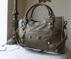 Balenciaga Giant City in Papyrus Lambskin with Silver Hardware - SOLD 37883d722554a