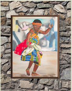 Dancing girl Wall Art Girl Dancing, Dance, Wall Art, Painting, Dancing, Painting Art, Paintings, Painted Canvas, Drawings