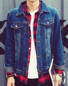 jaquetas jeans para homens 2
