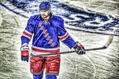 Rick Nash is one of the players I try to mold myself after Hockey, Baseball Cards, Sports, Hs Sports, Field Hockey, Sport, Ice Hockey