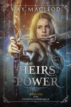 Heirs of Power- the new gorgeous cover!