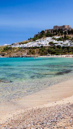 Lindos, Rhodes, Greece, it was so beautiful!