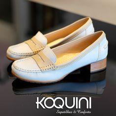 Pra começar deliciosamente bem a semana Compre Online: http://koqu.in/1lqg50E #koquini #sapatilhas #euquero #mocassim #wirth