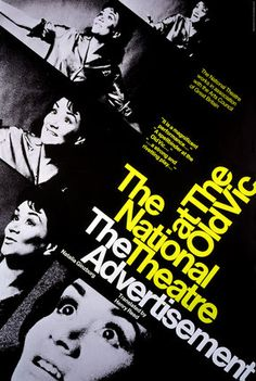 Advertisement, The -- 1968 -- High quality art prints, framed prints, canvases -- National Theatre Posters