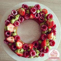 Tarte fraise framboise pistache | Maman fait un gâteau - Maman fait un gâteau