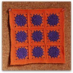 Cuadrado Crochet del mes: Marzo
