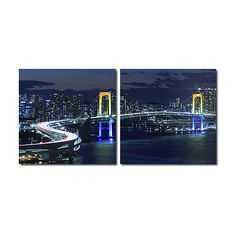 Baxton Studio Urban Pulse Diptych Print Set ($48) ❤ liked on Polyvore featuring home, home decor, wall art, urban wall art, baxton studio and urban home decor