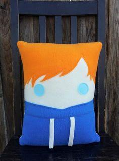 Ed Sheeran pillow, decorative throw pillow
