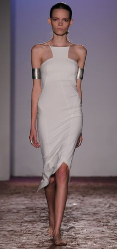 halter + double cuffs- Kimberly Ovitz Spring 2013
