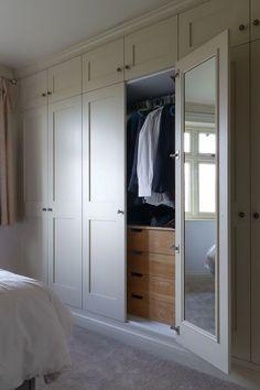 Best Indoor Garden Ideas for 2020 - Modern Bedroom Built In Wardrobe, Bedroom Built Ins, Fitted Bedroom Furniture, Bedroom Closet Doors, Fitted Bedrooms, Wardrobe Room, Bedroom Cupboards, Bedroom Closet Design, Home Bedroom