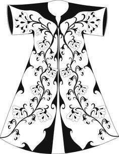 Sewing Clothes, Diy Clothes, Kimono Design, Quilling Patterns, Traditional Fashion, Edwardian Fashion, Islamic Art, Pattern Art, Blouse Designs